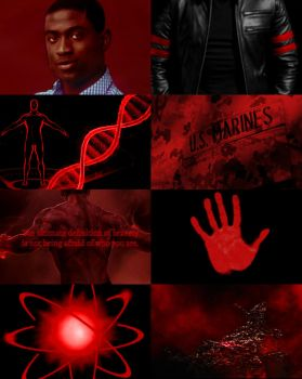 Aesthetic Red Atom by Claire-White-Shadow