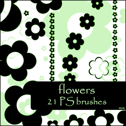 flowers brushes by szuia