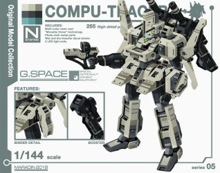 Series 05: Compu-Tracer by Nidaram