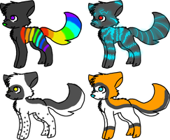 Draw to adopt/ point adopts by paragonthapuppy
