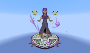 Lady Ianite MC Statue Build by 8bloodpetals