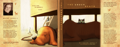 Book Cover - The Underneath by DragonwolfRooke