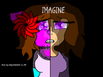 IMAGINE book cover by MoonLitSkecth123