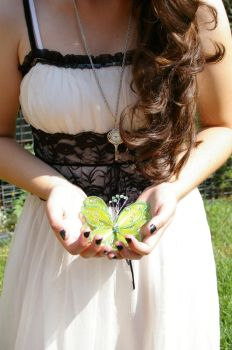 Hold a Butterfly by MannequinStock
