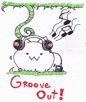 Grooving out with Cat Planet by Minty-MANZANA