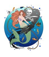 Pirate Mermaid by Pin-updoll
