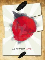 I PRAY FOR JAPAN by palax