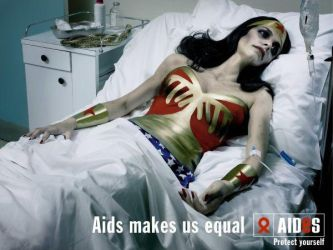 Aids awareness wonderwoman PSA ad by keelan12345
