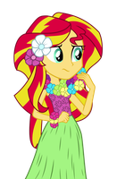 Hula Sunset Shimmer by MoHawgo