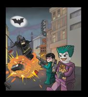 Lego Batman to the Rescue by ActionMissiles