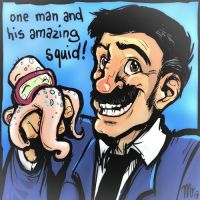 One Man and his Amazing Squid by mct421