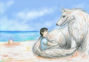 The Sand Wolf by rawenna