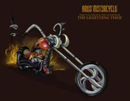 Ares' Motorcycle by samshank0453