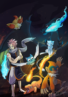 DRAGON SLAYER NATSU WANTS TO BATTLE by ShawnnL