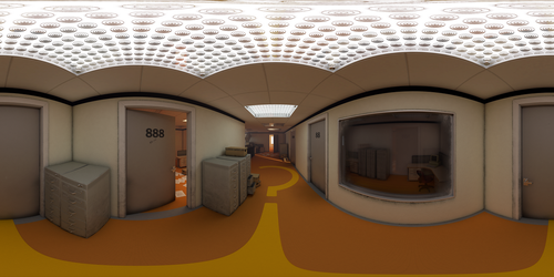 Stanley Parable Office 360 Panorama by 600v