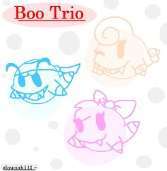 Boo Trio by glauciah112