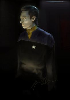 Star Trek:First Contact Data by duyeqing
