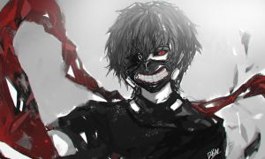 TOKYO GHOUL by DYNAZHER