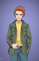 Buddy MacCulloch (Earth-27) OC commission by phil-cho