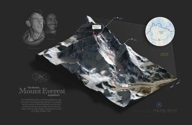 Mount Everest - 3D Map Generator-Atlas by templay-team