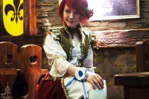 Witcher cosplay. Shani. Herts of stone. by Lyumos