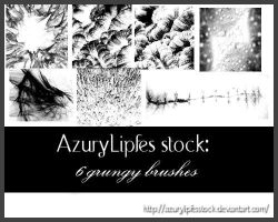 Grungy Brushes8 by AzurylipfesStock