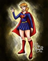 C- Supergirl SilverAge by roemesquita