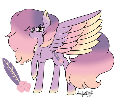 Pegasus ADOPTABLE - Fluffy Cloud (OPEN) by Moonlight0Shadow0