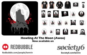 Howling at The Moon (AWOO) - In Store! by Temrin