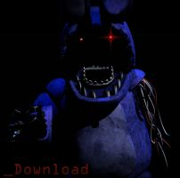 Withered Bonnie V3 [OLD DOWNLOAD, check new one] by CoolioArt
