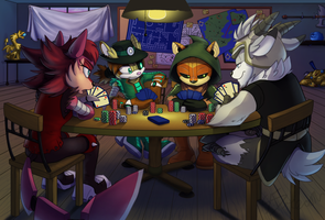 Commission: Poker by AbsoluteDream