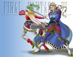 FFVI- Charging Forward by JesIdres