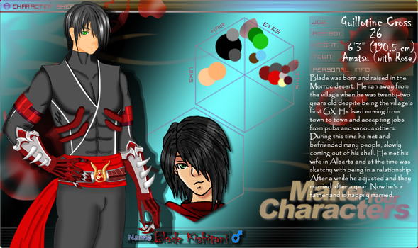 Blade Character Sheet :Updated: by Mishizoko