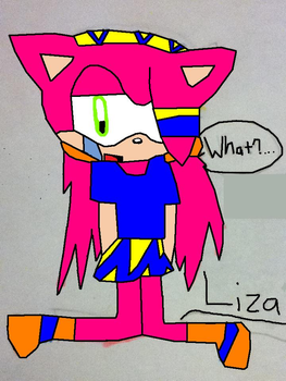 Liza: What? by Haylee-And-Sonic1231