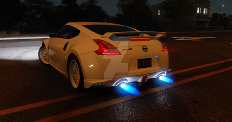 The Crew  Nissan 370z white by 3xhumed