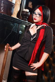 Headmistress Fiora 01 - League of Legends Cosplay by Kitty-Honey