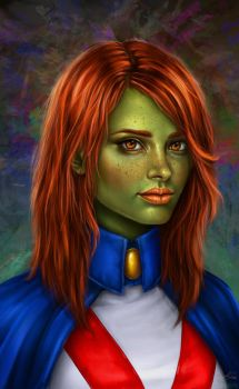 Young Justice: Miss Martian by belldandy105