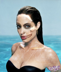 Zombie_Jolie by theantilove