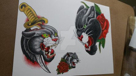 Panther flash sheet#2 by TheRaptor-Wolfy