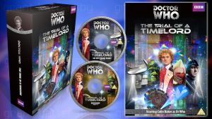 Doctor Who - The Trial of a Timelord Custom DVD by GrantBattersby