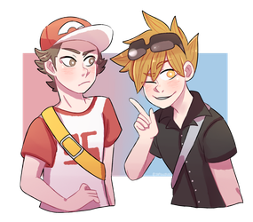 PKMN: Alola Red and Blue by tamisumimi