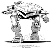 Battletech: Hoplite by Mecha-Zone