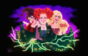 SISTAAAHS! - HOCUS POCUS by DylanBonner