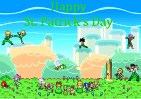 Sprite special: St. Patrick's Day by matrix125