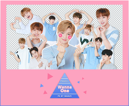 Wanna One RENDER PNG PACK  X11 by WANZIwithYJ