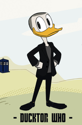 Ducktor Who - 9th Ducktor by JStCPatrick
