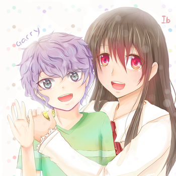 Ib and Garry Reversed? by isette