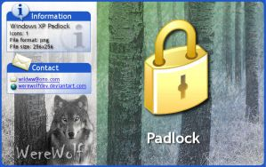 Windows XP PadLock by werewolfdev