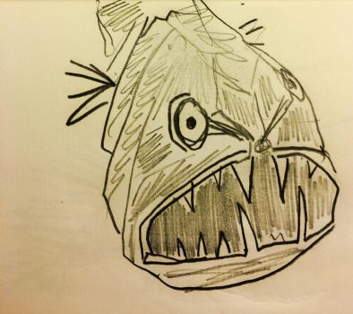 Bad Fish 2 by markroderick
