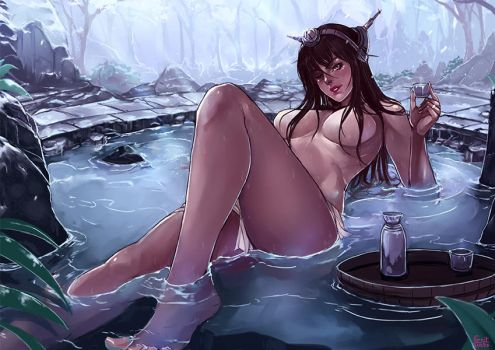 SP CM : Winter onsen by kachima